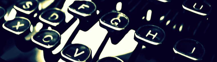 typewriter-header