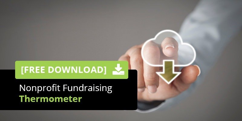 Download your nonprofit fundraising thermometer today!