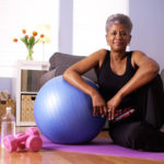 33836853 - happy healthy black grandma