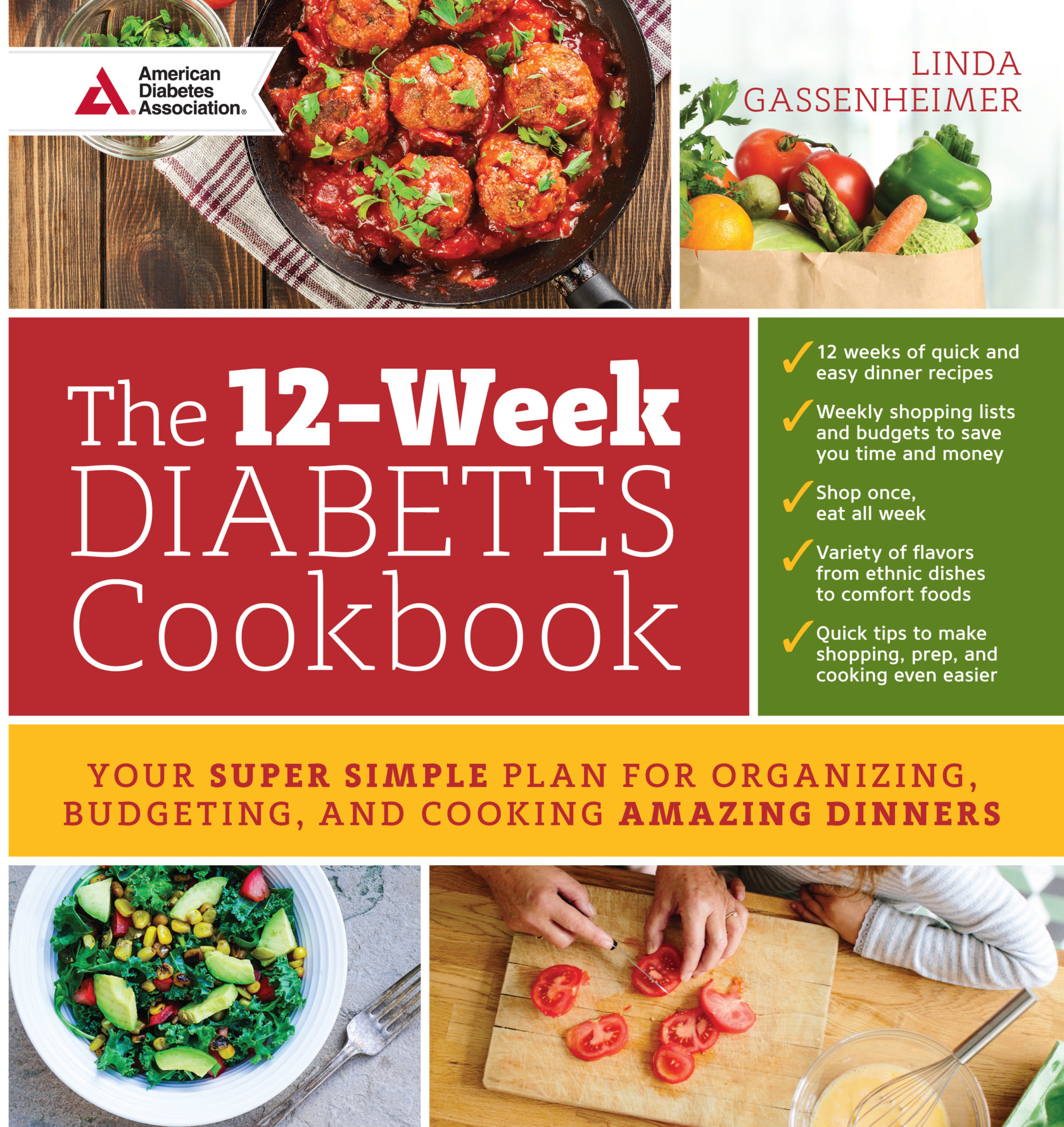 Easy tasty diabetes cookbook bloomerboomer the 12 week diabetes cookbook the latest meal planning guide from tv and radio personality food journalist syndicated columnist and best selling forumfinder Image collections