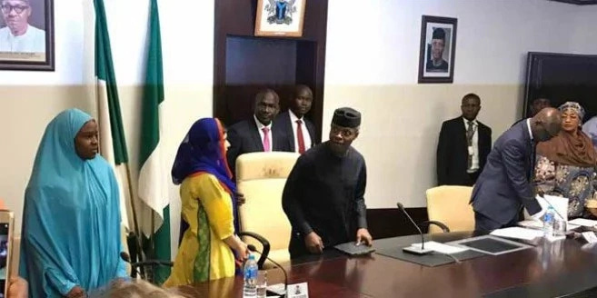 Osinbajo had a secret meeting with world respected activist Malala Yousafzai
