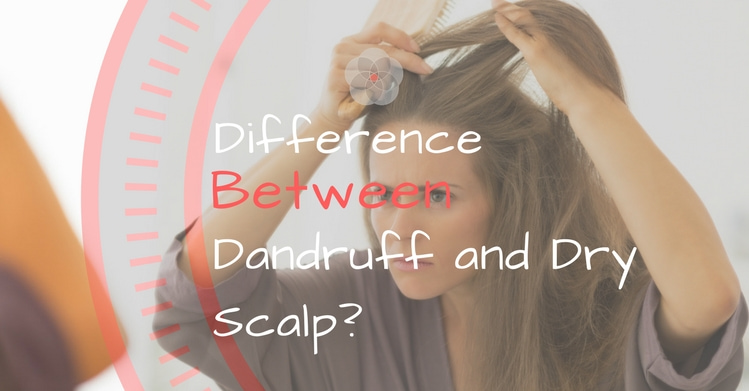 Difference Between Dandruff and Dry Scalp