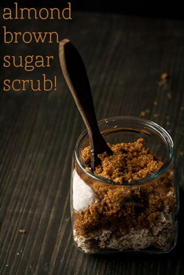 Almond Brown Sugar Scrub