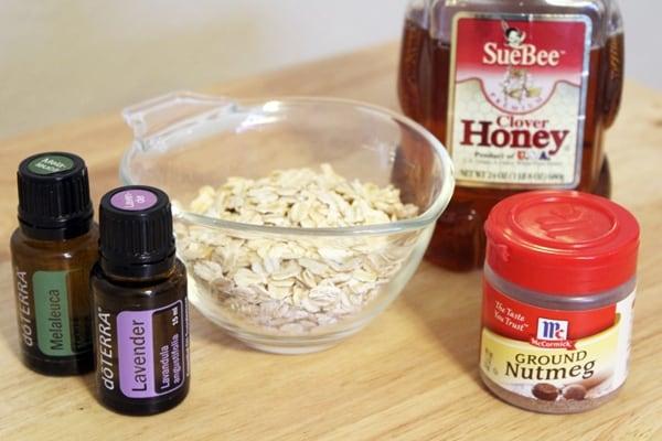 Honey Oatmeal Scrub