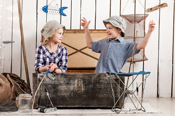 rustic decor kids playroom storage using an old wooden chest