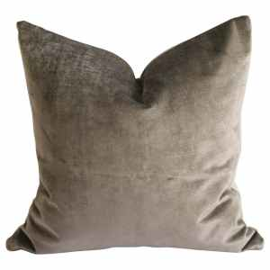 Mushroom Vintage Velvet Pillow