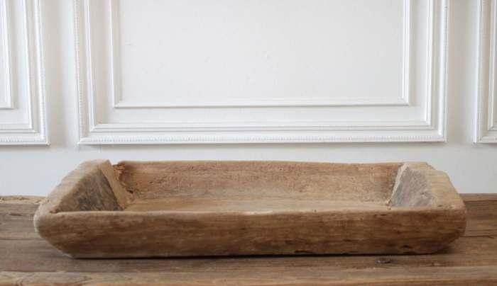 Antique Primitive Wood Trough