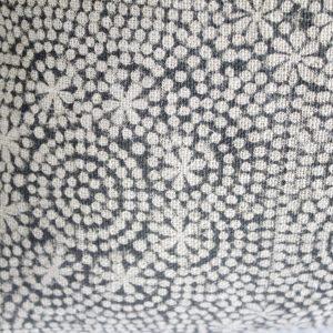 Linen Hand Block Accent Pillow Covers