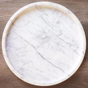 Marble Petite Round Tray