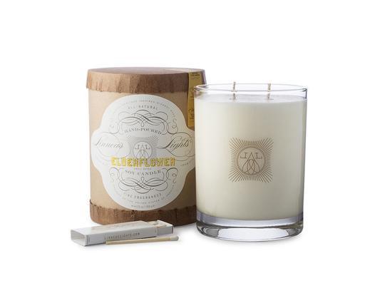 ELDERFLOWER Seasonal 2-wick Candle