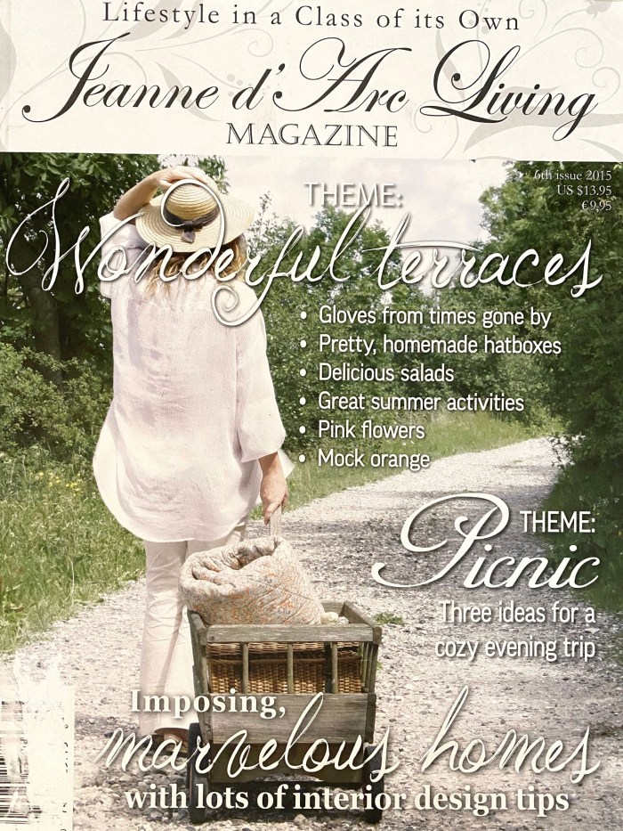 Jeanne D' Arc Living Magazine 6th Edition