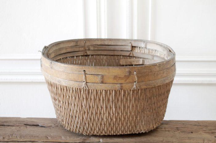 Medium Size Antique Chinese Basket
