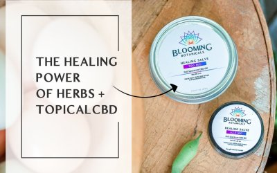 CBD Topicals + The Healing Power of Herbs