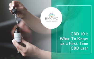 What To Know as a First Time CBD User
