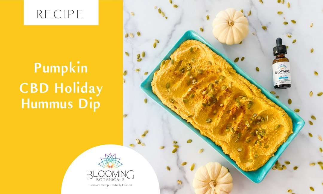 Pumpkin CBD Holiday Hummus Dip