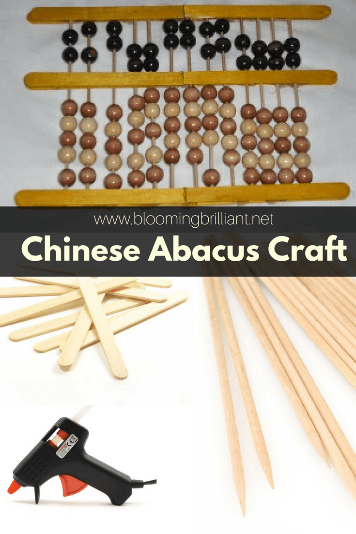 This Chinese Abacus Craft is fun, simple and educational. Great to do with school aged children.