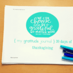 30 Days of Thanksgiving- Gratitude Journal