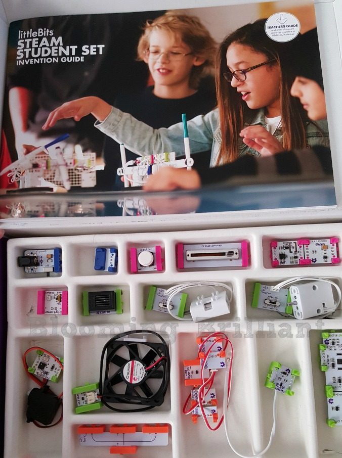 Little Bits STEAM Student Set is perfect to get your children excited about STEAM in your homeschool or classroom.