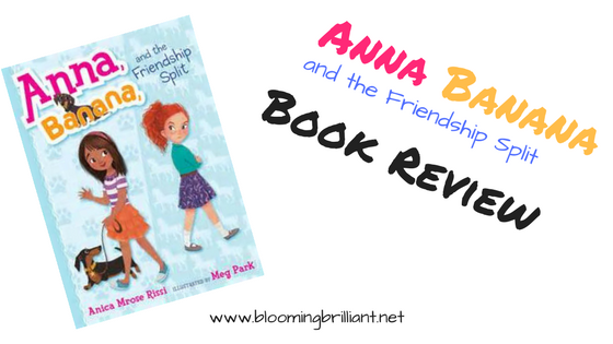Check out our KidLit Book Review of Anna Banana and the Friendship Split.