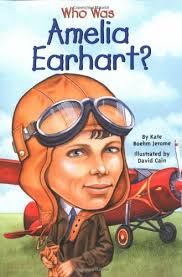 Amelia Earhart KidLit Book Picks for kids interested in strong female rolemodels.
