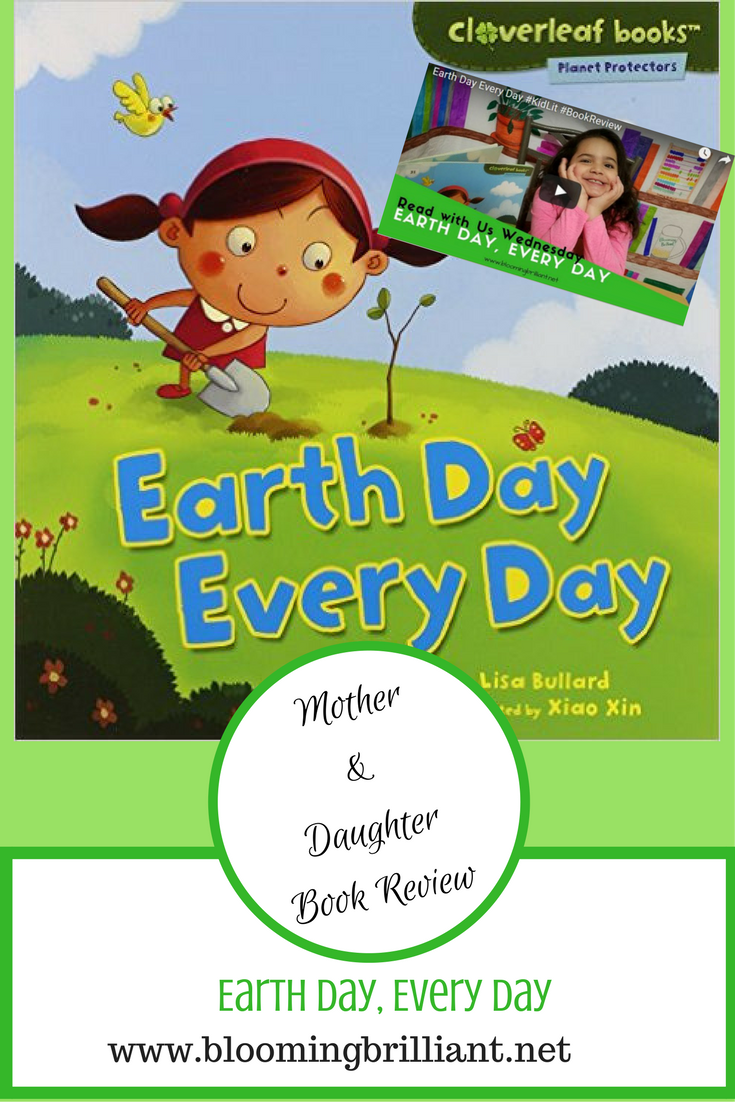 Celebrate Earth Day with Earth Day, Every Day. This fun read inspired children to take action to help take care of our planet.