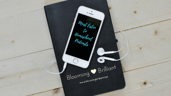 10 Homeschooling Podcasts that will motivate, inspire and support you on your homeschooling journey.