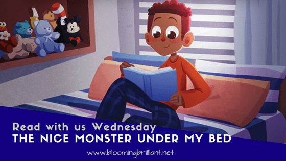 The Nice Monster Under My Bed #KidLit #BookReview