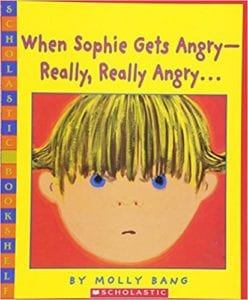 Mindfulness for Kids #KidLit Choices When Sophie Gets Angry - Really Really Angry...