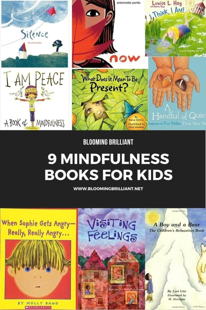 Pinterest Pin Mindfulness for Kids