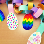 Easter Egg Paper Chain Craft
