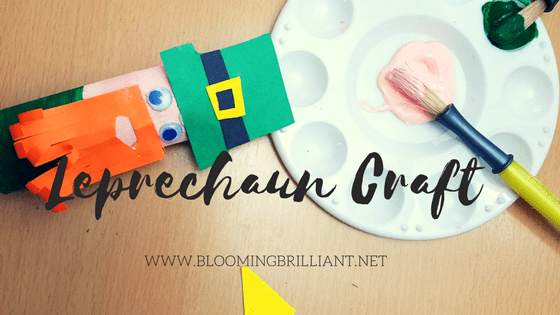 Celebrate St. Patrick's Day with a simple and fun leprechaun craft the kids will love.