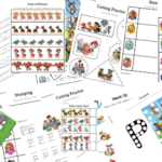 Paw Patrol Preschool Learning Activity Pack
