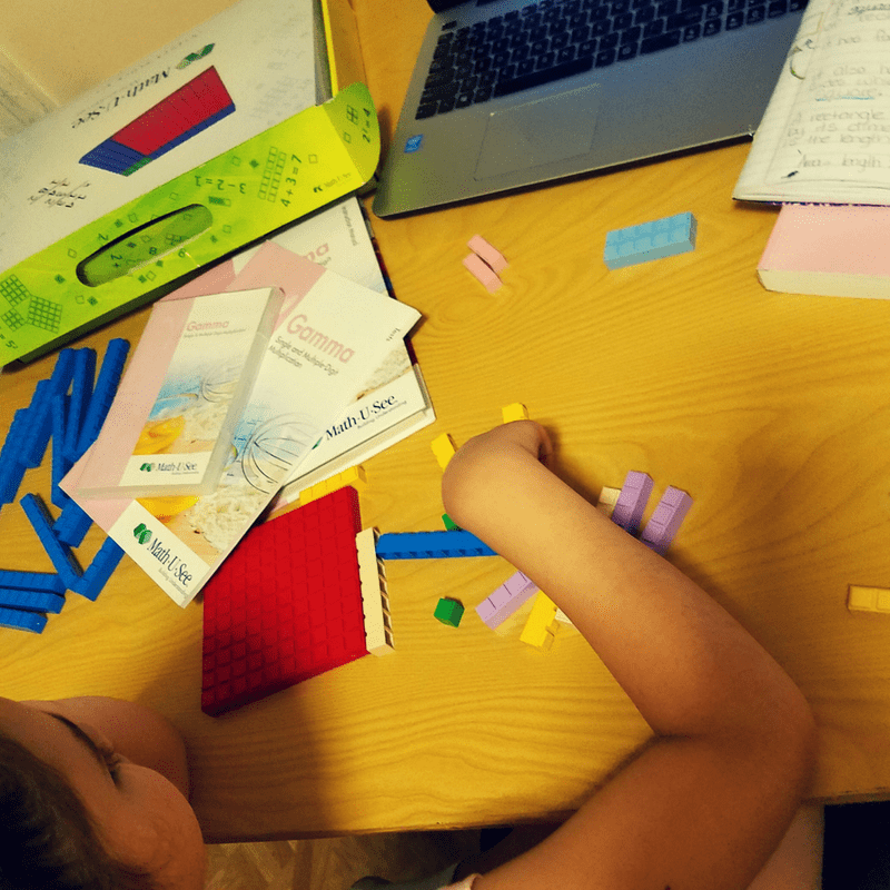 How I grew confidence in teaching my children math.