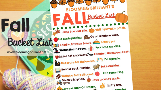 Fall Bucket List (Family Friendly)