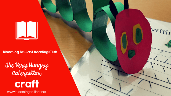 The Very Hungry Caterpillar Reading Extension and Craft