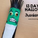Halloween Frankenstein Craft