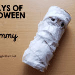 Halloween Mummy Craft