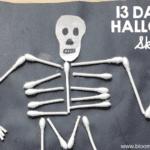 Halloween Skeleton Craft