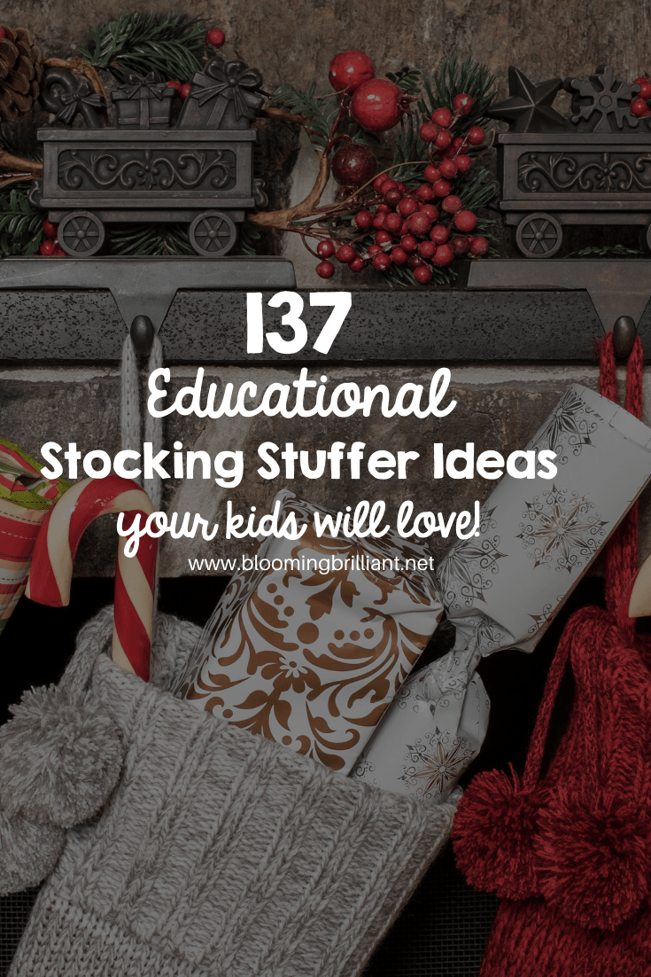 Educational Stocking Stuffers for Kids