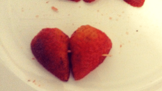 Heart shaped strawberry, DIY Chocolate Covered Strawberry Hearts