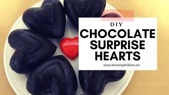 DIY Chocolate Surprise Valentine Treat!