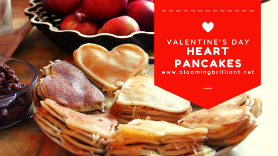 Looking for a easy and delicious breakfast for valentine's day or any day, that expresses your love? Our heart pancakes are an easy way to share your love with your family. Just Because.