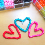Beaded Hearts Craft