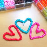 Beaded Hearts Craft