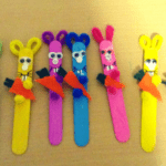 Popsicle Easter Bunny Craft