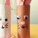 Paper Tube Easter Bunnies
