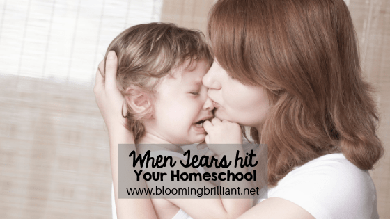 When Tears Hit Your Homeschool