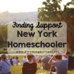 Finding Support as a New York Homeschooler