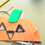 Halloween Pumpkin Mask Craft