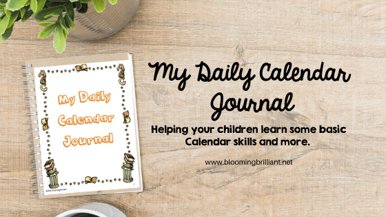 Daily Calendar Journal